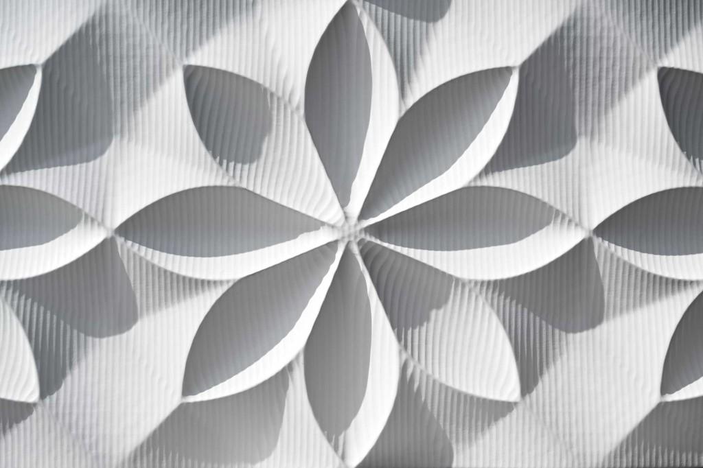 3d wandpaneele mdf texturiert schneeblume material id. Black Bedroom Furniture Sets. Home Design Ideas