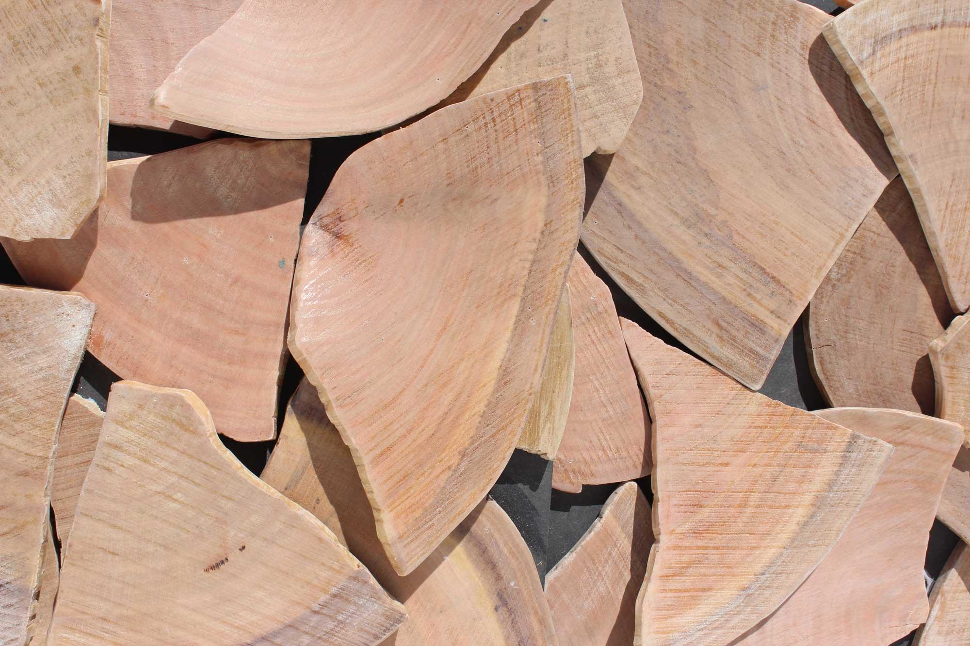 Wandpaneele-Holz-Eukalyptus-Scherbenglück