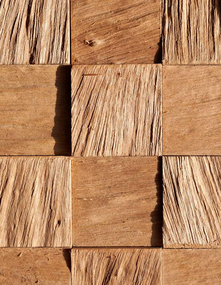 Wandpaneele Holz - Iroko - Rock Steady
