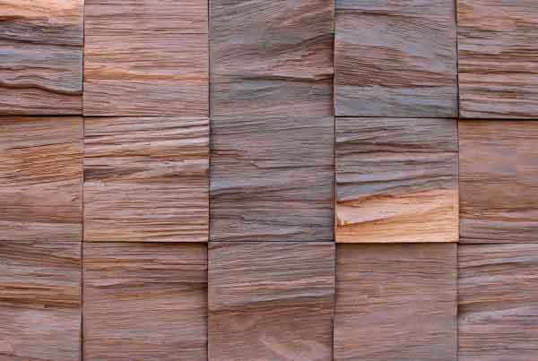 Wandpaneele - Holz Eucalyptus Thermobehandelt - Sediment Wave
