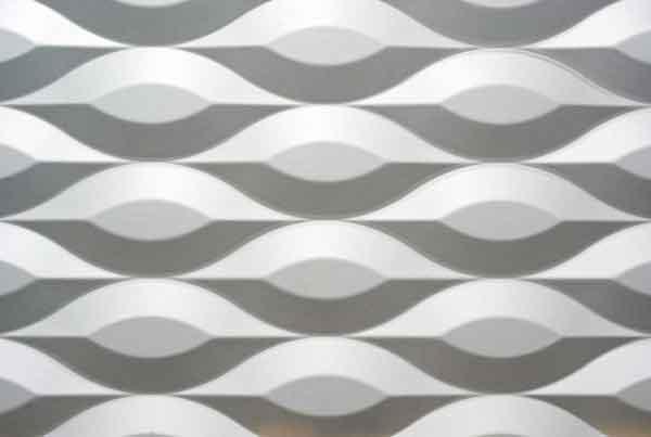 Wandpaneele - MDF Texturiert Dune Abstract