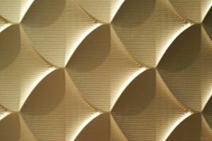 Wandpaneele - MDF Texturiert Net Abstract