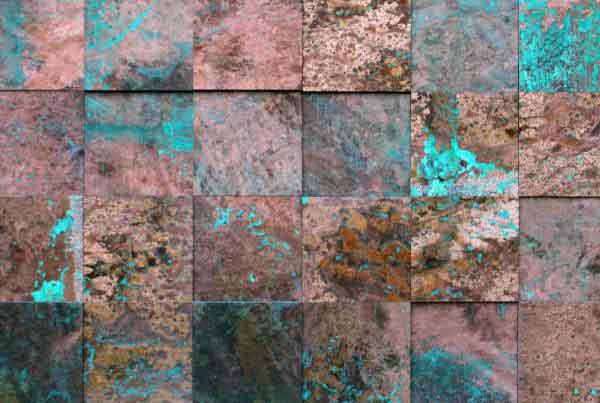 wandpaneele-metall-kupfer-oxidiert-princkeln-tuerkis