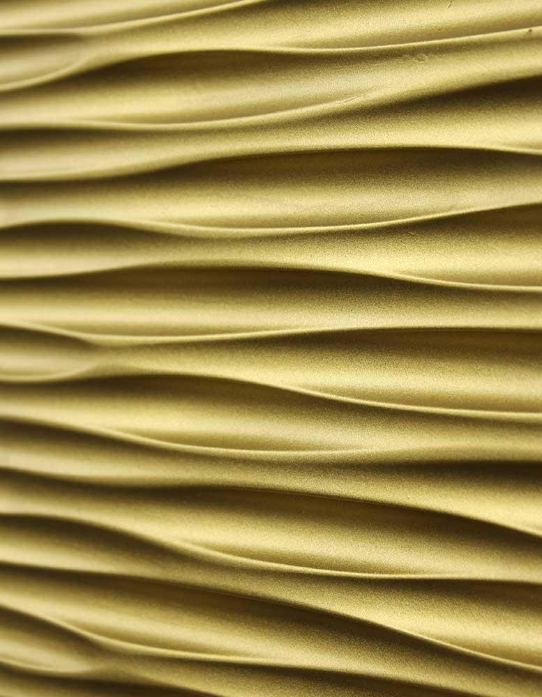 3d Wandpaneele Mdf Texturiert Wellenreiter Gold Material Id