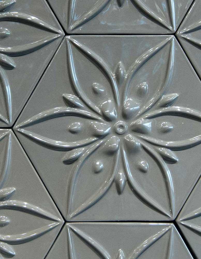 keramik-wandpaneele-wandfliesen-grau-mokka-flowers-seitlich