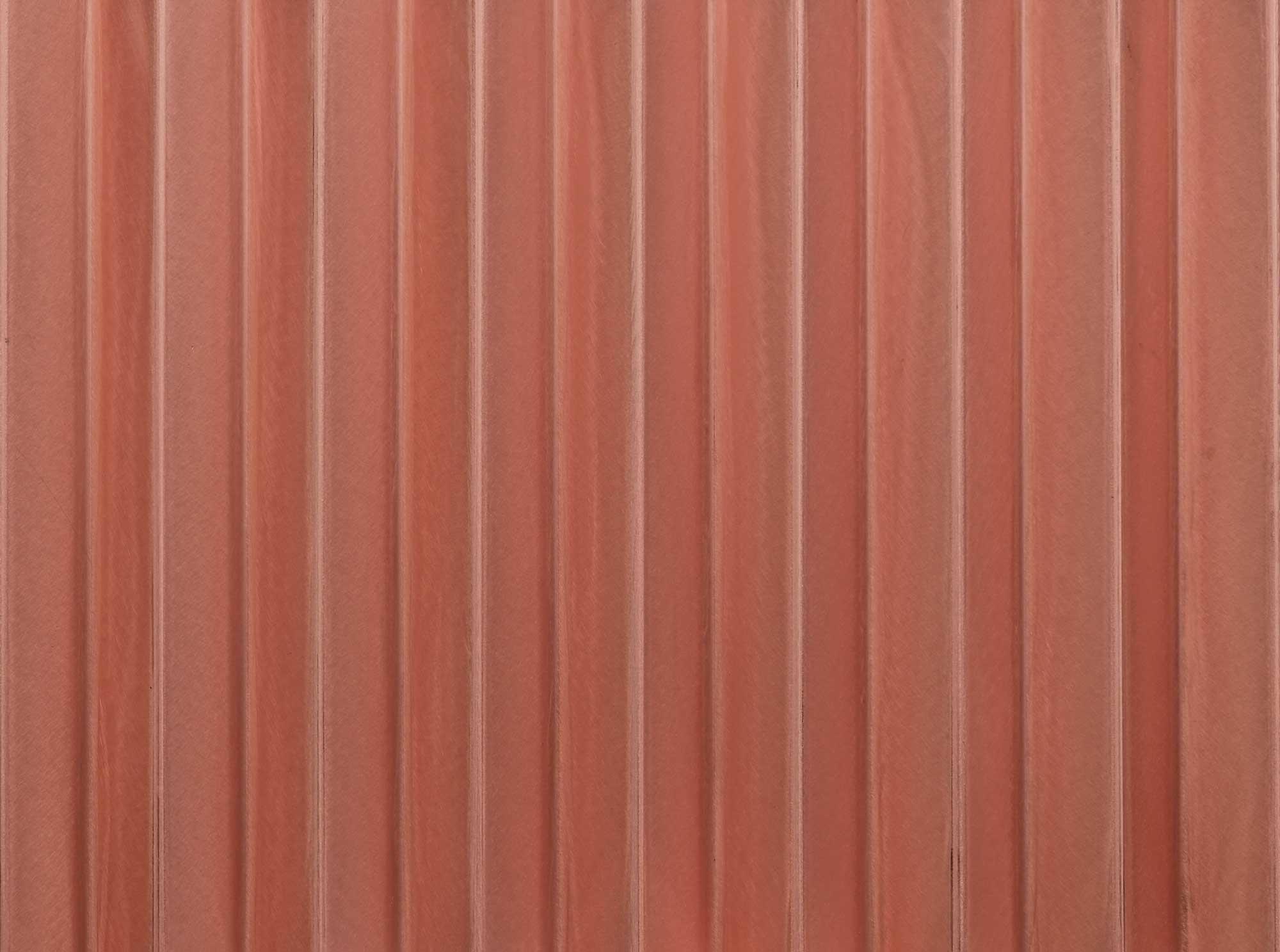 wandpaneele-metall-kupfer-gewellt-faltenwurf