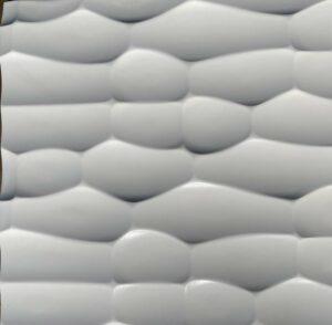 3D Wandpaneele Texturiert - MDF - Snowy Horizons-front