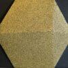 wandpaneele-kork-gold-lackiert-hexagon-kork